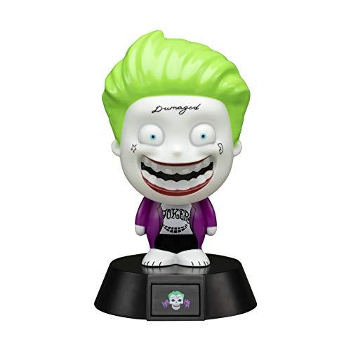 Paladone Joker Icon 3D LED Sammlerstück Suicide Squad Ideal Night Kids Schlafzimmer Büro & Home Pop Culture Lighting Merchandise [Energieklasse A+], mehrfarbig (Kid Schlafzimmer-beleuchtung)