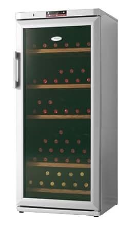 Whirlpool WW 1400 Cave à vin de service 88 bouteilles Argent