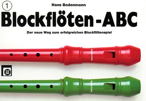 Blockflöten-ABC, 3 Bde, Bd.1