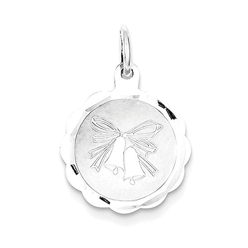Sterling Silver Wedding Bells disco Charm - Wedding Bells Charm