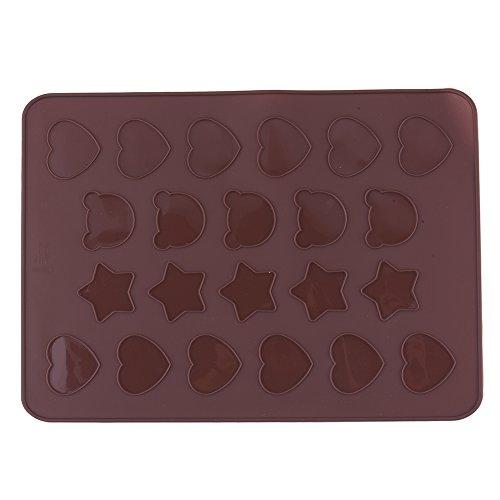 yunt Tappeto piastre di cottura in silicone per macaron costituito da 30Water per pasticceria cuore