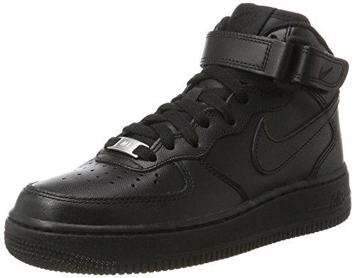 Nike Air Force 1 Mid '07 LE 366731 Damen Sportschuhe, Schwarz, 35.5 EU (Nike Neuheit)