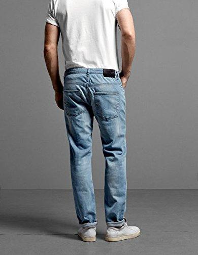 SELECTED HOMME Herren Slim Jeans Two Mario 2161 STS I Black - Schwarz (BLACK 9999)