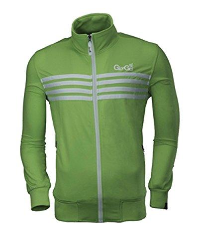 Gio Goi Herren grün Fugenkratzer Trainingsanzug Top RRP £ 34,99 Gr. In general, grün