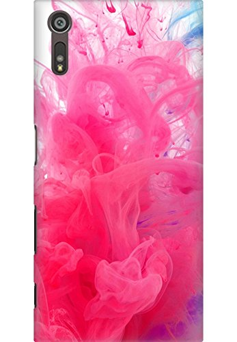 Amez designer printed 3d premium high quality back case cover for Sony Xperia XZ (Holi water india public holiday paint underwater red blue)