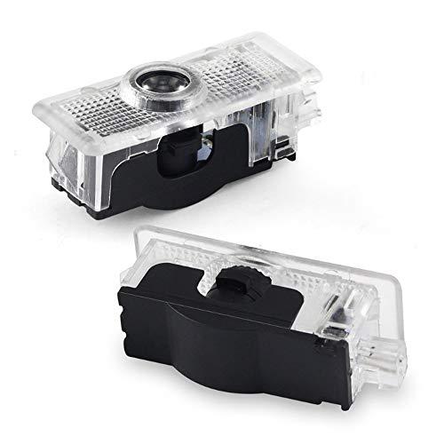 �r höflichkeit Laser projektor, Autotür LED Logo HD Projektor Einfache Installation Schatten Lichter kompatibel mit Mercedes Benz CLA CLS A207 C207 etc. ()