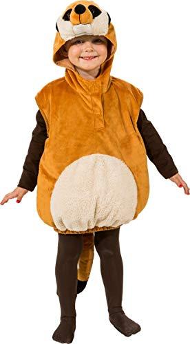 Kostüm Timon - Unbekannt Tier Kostüm für Kinder Gr. 104 Erdmännchen zur Auswahl Fasching Karneval