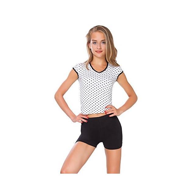 50d8fcbb03 Futuro Mode Super Doux Coton Short élastique Stretch Yoga Culotte UK 8-22  Psl5 ...