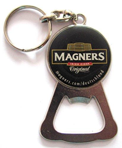 Preisvergleich Produktbild Magners Irish Cider - Irisches Bier - Schlüsselanhänger mit Flaschenöffner