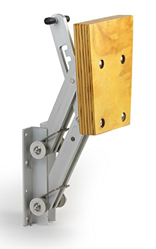Motorhalter Motorhalterung Boot Außenborder bis 7 PS 4 Positionen Aluminium Holz
