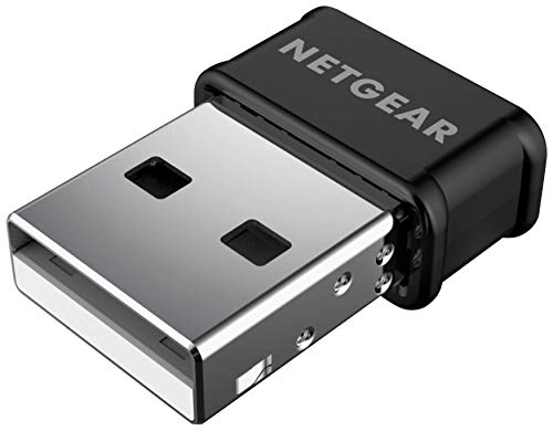 Netgear Nano USB Wlan Adapter A6150-100PES AC1200 (Dual-Band Wi-Fi für bis zu 1.200Mbit/s, 802.11ac, MU-Mimo Unterstützung, USB1.1, 2.0 kompatibel) schwarz