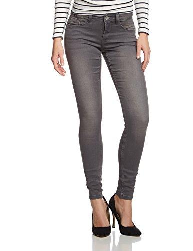 ONLY Damen Skinny Jeans Ultimate Soft Reg. Grey Noos 15090585, Grau (Medium Grey Denim), M/32 (Herstellergröße: M)
