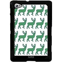 Funda para Samsung Galaxy Tab P6800 - Patrón De Ciervos by LoRo-Design