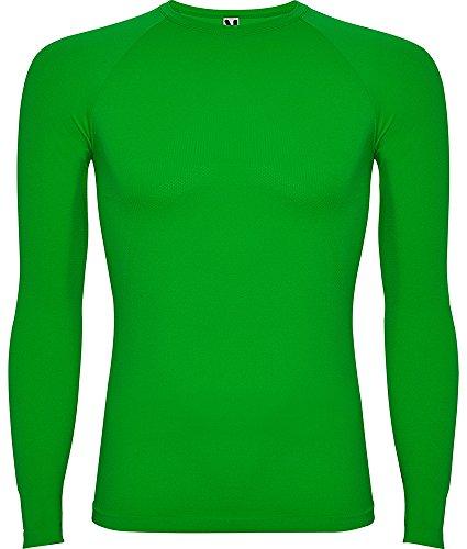 Camiseta Térmica Profesional Prime 0365-XS/S-Verde Helecho 226