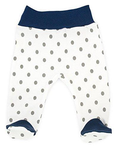 Baby-Mode Mädchen Hose mit Fuß -Kollektion Mouse 08115- (68)