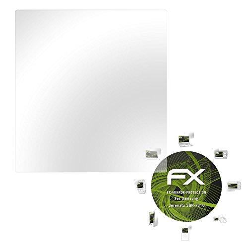 Samsung Serenata (SGH-F310) Spiegelfolie - atFoliX FX-Mirror Displayschutz Folie mit Spiegeleffekt