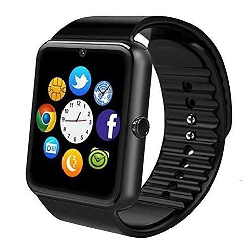 Milnnare Fitness Armband Sport Tracker Schlaf Monitor Schrittzähler Handfreie Anrufe Smart Watch - Schwarz