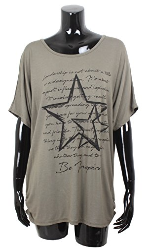 Emma & Giovanni T-Shirt/Top - Donna 2-Marrone