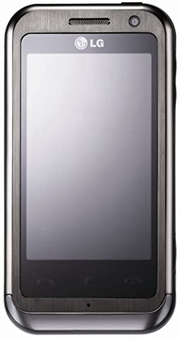LG KM900 Arena Smartphone (Dolby Mobile Surround, FM Transmitter, GPS, 5MP,WLAN ) schwarz