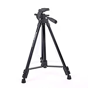 Fotopro DIGI-9300 5ft Tripod Stand for Cameras and Camcorders Aluminium Black Payload 4Kg