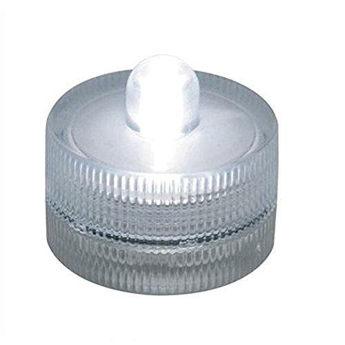 icht Wasserdicht Flammenlose Tee Kerzen Batteriebetriebene Teelicht Dekor für Zuhause, Hochzeit und Partys, Runde Form ()