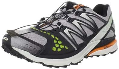 Salomon Men's XR Crossmax Neutral Trail Running Shoe,Aluminum/Black/Clementine,9.5 M US