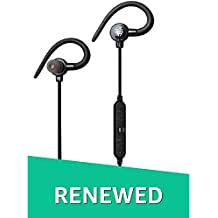 (Renewed) Ant Audio H25B in-Ear Bluetooth Sports Earbud Earphones with Mic (Black)
