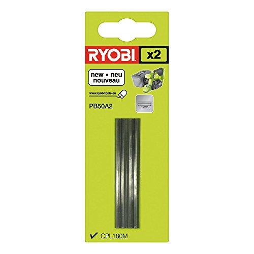 Ryobi 5132002602 - Hm cepillada-cuchillas reversibles para el tipo cpl180mhg pb50a2, 2 piezas,