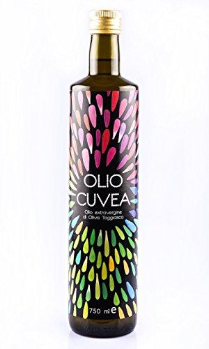 Olio taggiasco - olio extravergine di olive taggiasche 750 ml dell'azienda agricola cuvea liguria