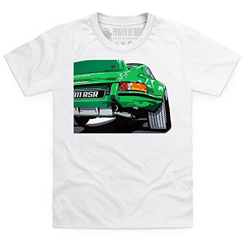nine-eleven-rsr-sports-car-t-shirt-bimbi-bimbi-bianco-s