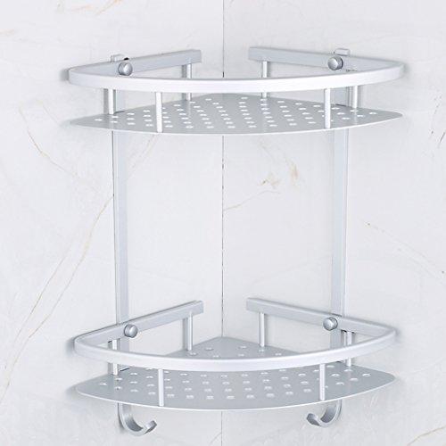 Accessori sanitari per bagno mensola per toilette scaffale a triangolo per ripostiglio angolare a parete (290 * 350mm)