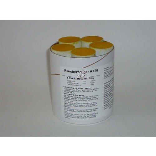 Preisvergleich Produktbild Björnax AB Rauchpatronen AX-60 gelb 5 Stück