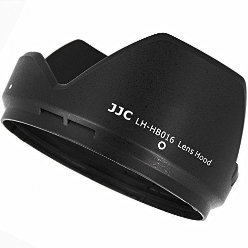 JJC Gegenlichtblende Sonnenblende Streulichtblende aehnlich wie Tamron HB016 aus ABS in Schwarz fuer Tamron 16-300mm f/3.5-6.3 Di II VC PZD MACRO - LH-HB016