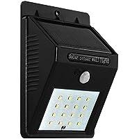 midwec 16luci a LED a energia solare con sensore di movimento senza fili energia solare LED sicurezza luci