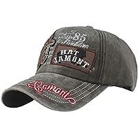 Gorras de Hombre Mujer SUNNSEAN Bordado de Letras Hats de Verano Sombrero  Deportivo Casual Moda Gorro 4775f5a1a94