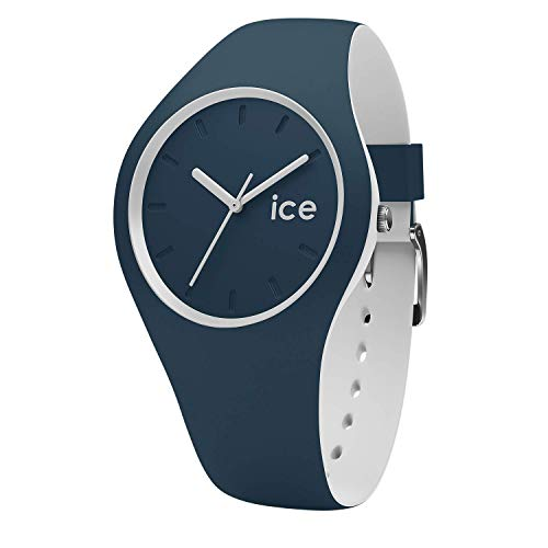 Ice-Watch - Ice Duo Atlantic - Blaue Jungenuhr mit Silikonarmband - 001487 (Small) -