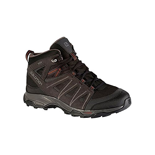 Salomon Ravenrock Mid Gtx, Chaussures basses men BLACK/ASPHAL/ORANGE