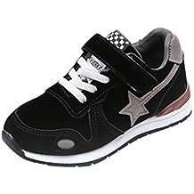ELECTRI Garçon Fille Chaussure de Course Loisirs Chaussures de Sports Star  Mesh Sneakers Baskets Running pour c853b584ac55
