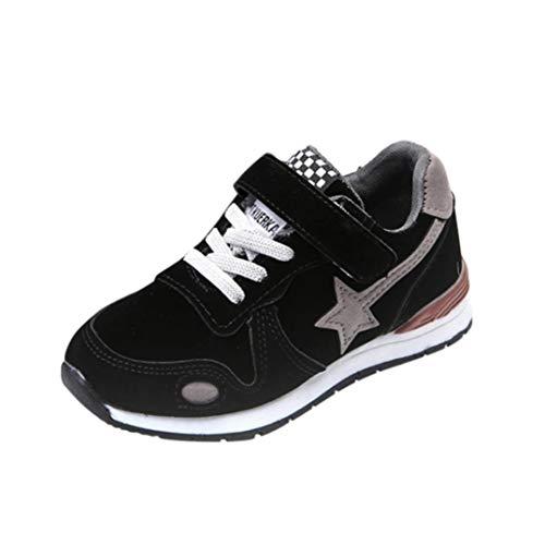 ELECTRI Garçon Fille Chaussure de Course Loisirs Chaussures de Sports Star Mesh Sneakers Baskets Running pour Enfants