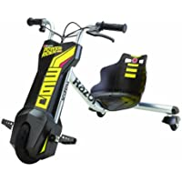Razor Powerrider 360, Electric Vehicles Children, Giallo/Nero, 96.52 X 61.98 X 65.02