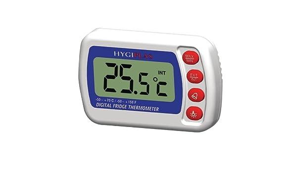 Kühlschrank Thermometer Digital : Hygiplas f343 digital kühlschrank gefrierschrank thermometer: amazon
