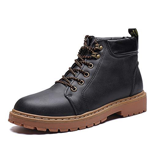 Shoe House Männer-Knöchelstiefel/Rutschsicherheit Stiefel Gummi-Arbeitsschuhe/Retro-Stil Größe SU 6,5-9,5,EU43/US9.5(M)/UK9