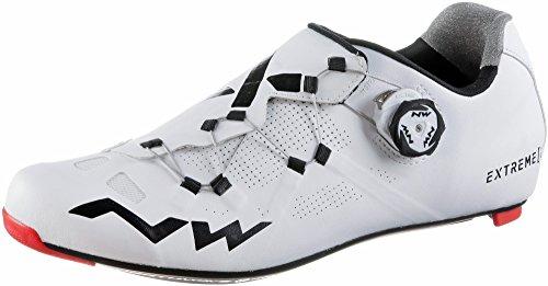 Northwave Extreme GT Rennrad Fahrrad Schuhe weiß/schwarz 2018: Größe: 43 (Rennrad Schuhe 43)