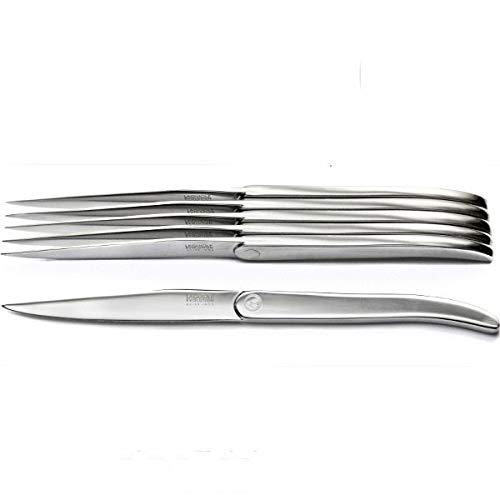 LAGUIOLE Coffret luxe 6 couteaux Cristal inox