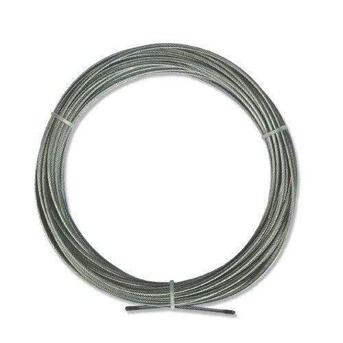 Interdeco Spannseil / Niro-Stahlseil in 10 Meter für Seilspanngarnituren