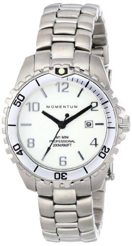 Momentum - 1M-DV07WS0 - Montre Femme - Quartz Analogique - Aiguilles lumineuses - Bracelet Acier Inoxydable Argent