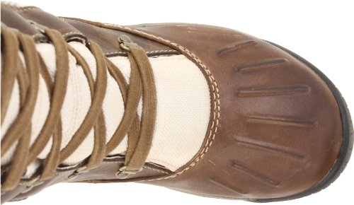 Timberland Mount Holly FTW_EK F/L Lace Duck WP Damen Warm gefütterte Schneestiefel Braun (Light Brown)