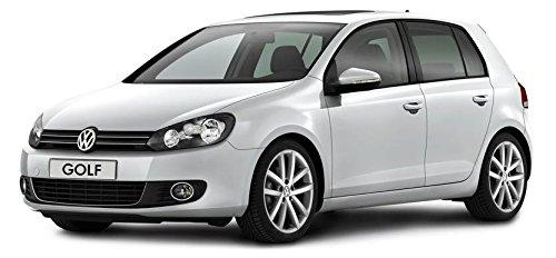 Déflecteurs pour VW Golf VI, G + D 2008-2012 (HTB) Avant et Arriere, 4 pcs, 5-Portes