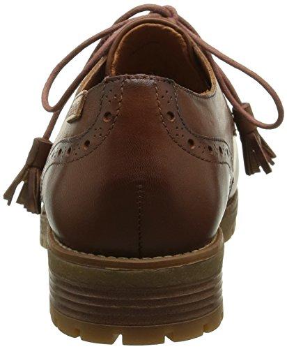 Pikolinos Santander W4j I16, Chaussures Lacées Femme Marron (Cuero)