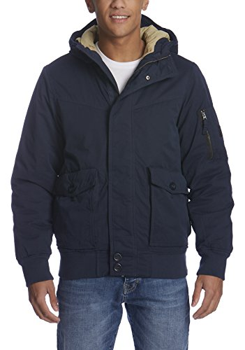 Bench Herren PALLOR Jacke, Blau (Dark Navy Blue NY031), Large